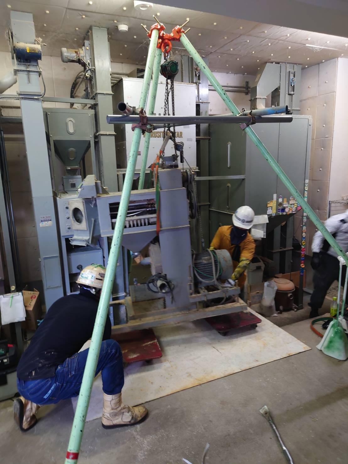 埼玉県 機器の入れ替え工事